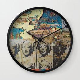 Marilyn Money Wall Clock