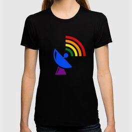 Rainbow Gaydar Gay Pride Flag Colors T-shirt