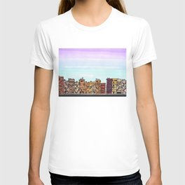 New York Purple Sky T-shirt