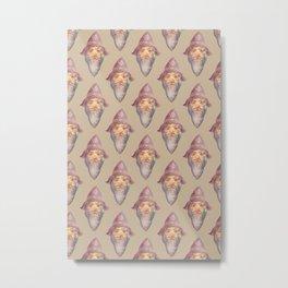 wizard pattern Metal Print