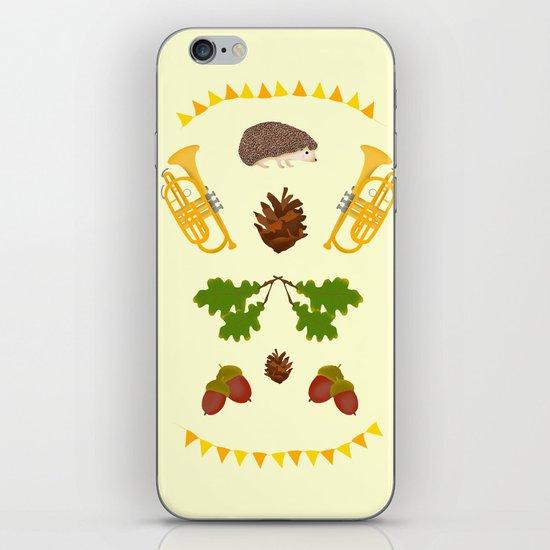 Igelkotta kalaset iPhone & iPod Skin