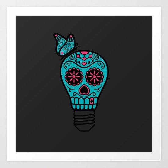 Noche de los Muertos Art Print