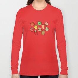 Cute fruit and veg Long Sleeve T-shirt