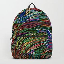 Neon glow Backpack