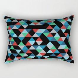 Triangles 4B Rectangular Pillow