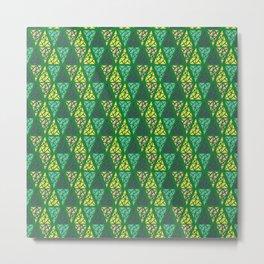 Low Green Metal Print