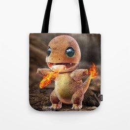 Realistic Charmandar Tote Bag