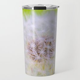 Dandelion - macro Travel Mug