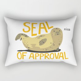 Seal Of Approval Rectangular Pillow