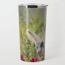 Ibis on magnolia Travel Mug