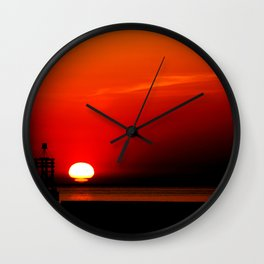 Another Sunset  Wall Clock