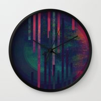 sound Wall Clocks featuring Sound by DuckyB