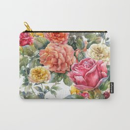 Rose Romance Carry-All Pouch