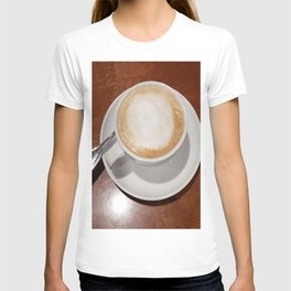 Rise and Shine Cafe con Leche Coffee! T-shirt