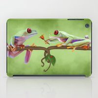 lovers iPad Cases featuring Lovers by Ivan Pawluk