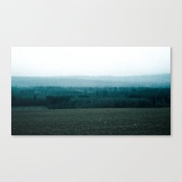 Contrast in Pasture Canvas Print