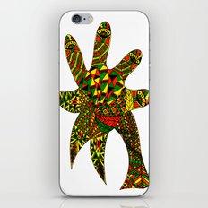 Finger Palm Tree iPhone & iPod Skin