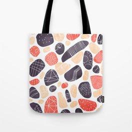 Decorative Pebbles Tote Bag