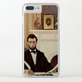 Scribners Magazine 1900 - Emancipation Proclamation issued by Abraham Lincoln Clear iPhone Case