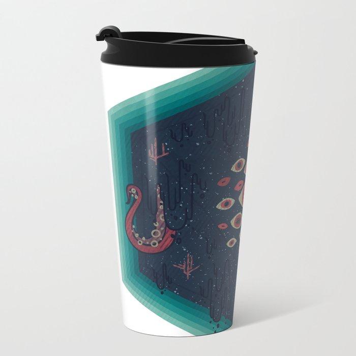 Hex Metal Travel Mug