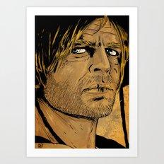 Klaus Kinski Art Print