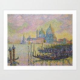 Paul Signac, Grand Canal, 1905 Art Print