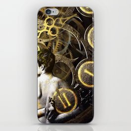 Theory of Time: revêtement iPhone Skin