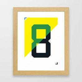 Dr. Sócrates  Framed Art Print