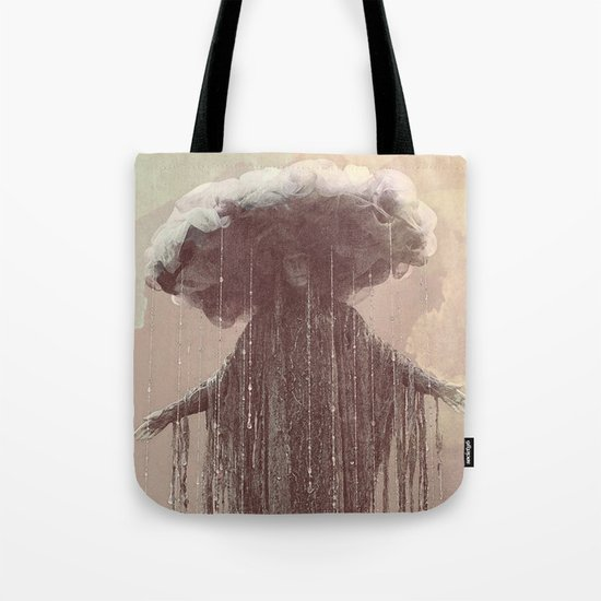 storm lady Tote Bag