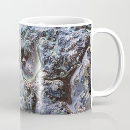 Rainbow effect oil on tarmac road photograph Coffee Mug
