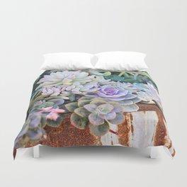 Desert Flowers Duvet Cover