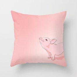 Little Pig Throw Pillow