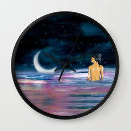Stars cant shine without Darkness Wall Clock
