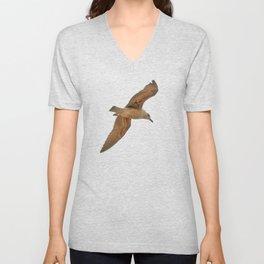 Seagull bird flying Unisex V-Neck
