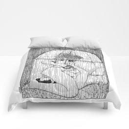 asc 514 - La fille qui aimait la pluie (Rider on the storm) Comforters