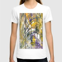 kandinsky T-shirts featuring Abstract 26 by Har8