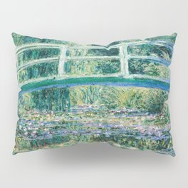 1899-Claude Monet-Water Lilies and Japanese Bridge Pillow Sham