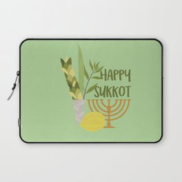 Sukkot Shalom Best Wishes for the Sukkot Holiday Laptop Sleeve