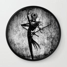 Halloween Style Wall Clock