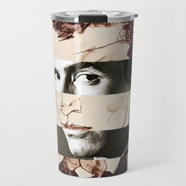Egon Schiele's Self Portrait & Anthony Perkins Travel Mug