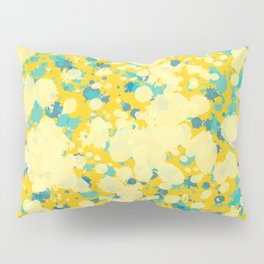 Yellow Splatter Pillow Sham