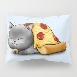 Purrpurroni Pizza Pillow Sham