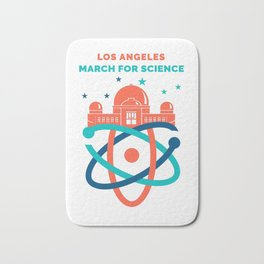 Earth Day For Los Angeles Bath Mat