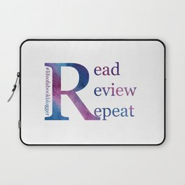 Read, Review, Repeat Laptop Sleeve