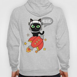 Space Cat - Houston we have a problem Hoody