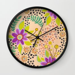 Sleepover Wall Clock