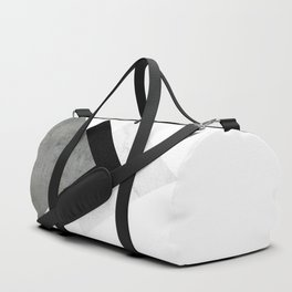 Arrows Monochrome Collage Duffle Bag