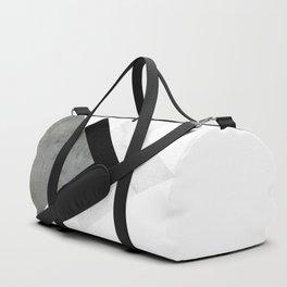 Arrows Monochrome Collage Duffle Bag