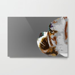 Boxer. Dog portrait in pop art style. Metal Print
