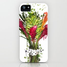 Zomie Flowers iPhone Case